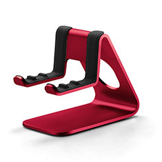 Support de Bureau Support Smartphone Universel K25 pour Apple iPhone 11 Rouge