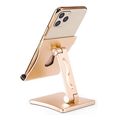 Support de Bureau Support Smartphone Universel K32 pour Vivo Nex 3 5G Or