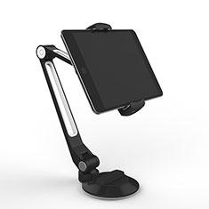 Support de Bureau Support Tablette Flexible Universel Pliable Rotatif 360 H04 pour Samsung Galaxy Tab S3 9.7 SM-T825 T820 Noir