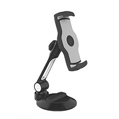 Support de Bureau Support Tablette Flexible Universel Pliable Rotatif 360 H05 pour Samsung Galaxy Tab S3 9.7 SM-T825 T820 Noir