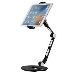Support de Bureau Support Tablette Flexible Universel Pliable Rotatif 360 H08 pour Samsung Galaxy Tab S 10.5 LTE 4G SM-T805 T801 Noir