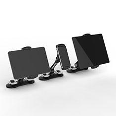 Support de Bureau Support Tablette Flexible Universel Pliable Rotatif 360 H11 pour Samsung Galaxy Tab 4 7.0 SM-T230 T231 T235 Noir