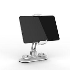 Support de Bureau Support Tablette Flexible Universel Pliable Rotatif 360 H11 pour Samsung Galaxy Tab S2 9.7 SM-T810 SM-T815 Blanc
