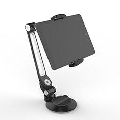 Support de Bureau Support Tablette Flexible Universel Pliable Rotatif 360 H12 pour Huawei MediaPad M2 10.1 FDR-A03L FDR-A01W Noir