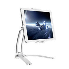 Support de Bureau Support Tablette Flexible Universel Pliable Rotatif 360 K05 pour Huawei MatePad 10.8 Argent