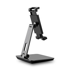Support de Bureau Support Tablette Flexible Universel Pliable Rotatif 360 K06 pour Samsung Galaxy Tab Pro 8.4 T320 T321 T325 Noir