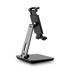 Support de Bureau Support Tablette Flexible Universel Pliable Rotatif 360 K06 pour Samsung Galaxy Tab S7 Plus 5G 12.4 SM-T976 Noir
