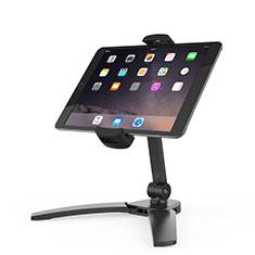 Support de Bureau Support Tablette Flexible Universel Pliable Rotatif 360 K08 pour Samsung Galaxy Tab A6 7.0 SM-T280 SM-T285 Noir