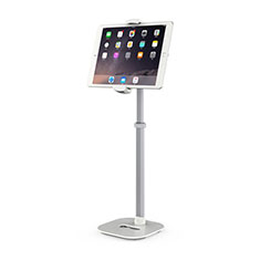 Support de Bureau Support Tablette Flexible Universel Pliable Rotatif 360 K09 pour Apple iPad Air Blanc