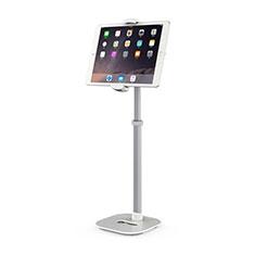 Support de Bureau Support Tablette Flexible Universel Pliable Rotatif 360 K09 pour Apple New iPad Air 10.9 (2020) Blanc