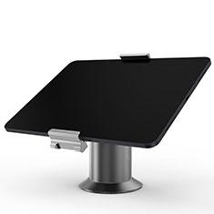 Support de Bureau Support Tablette Flexible Universel Pliable Rotatif 360 K12 pour Huawei MediaPad M5 8.4 SHT-AL09 SHT-W09 Gris