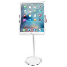 Support de Bureau Support Tablette Flexible Universel Pliable Rotatif 360 K27 pour Apple iPad New Air (2019) 10.5 Blanc
