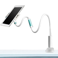 Support de Bureau Support Tablette Flexible Universel Pliable Rotatif 360 pour Samsung Galaxy Tab Pro 8.4 T320 T321 T325 Blanc