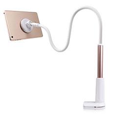 Support de Bureau Support Tablette Flexible Universel Pliable Rotatif 360 T32 pour Samsung Galaxy Tab 2 10.1 P5100 P5110 Or