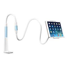 Support de Bureau Support Tablette Flexible Universel Pliable Rotatif 360 T33 pour Apple iPad 4 Bleu Ciel