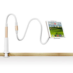 Support de Bureau Support Tablette Flexible Universel Pliable Rotatif 360 T33 pour Samsung Galaxy Tab S2 8.0 SM-T710 SM-T715 Or