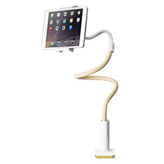 Support de Bureau Support Tablette Flexible Universel Pliable Rotatif 360 T34 pour Apple iPad Mini 5 (2019) Jaune