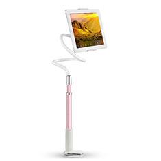 Support de Bureau Support Tablette Flexible Universel Pliable Rotatif 360 T36 pour Apple iPad 4 Rose