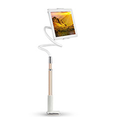 Support de Bureau Support Tablette Flexible Universel Pliable Rotatif 360 T36 pour Apple iPad New Air (2019) 10.5 Or Rose