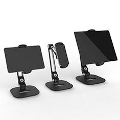 Support de Bureau Support Tablette Flexible Universel Pliable Rotatif 360 T44 pour Samsung Galaxy Tab S3 9.7 SM-T825 T820 Noir