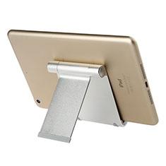 Support de Bureau Support Tablette Universel T27 pour Samsung Galaxy Note 10.1 2014 SM-P600 Argent