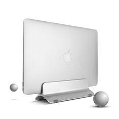 Support de Carnet Support Portable Universel S01 pour Apple MacBook Air 13 pouces (2020) Argent