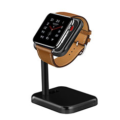 Support de Station de Charge Pied Support Crochet pour Apple iWatch 2 42mm Noir