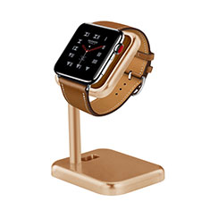 Support de Station de Charge Pied Support Crochet pour Apple iWatch 3 42mm Or