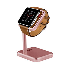 Support de Station de Charge Pied Support Crochet pour Apple iWatch 38mm Or Rose
