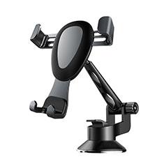 Support de Voiture avec Ventouse Universel H02 pour Nokia X3 Noir