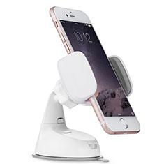 Support de Voiture avec Ventouse Universel H05 pour Nokia X3 Blanc