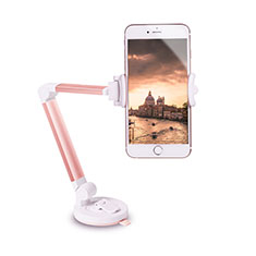 Support de Voiture avec Ventouse Universel H06 pour Apple iPhone 11 Or Rose