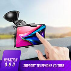 Support de Voiture avec Ventouse Universel H07 pour Huawei Mate 20 Noir