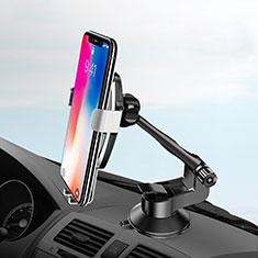 Support de Voiture avec Ventouse Universel H10 pour Huawei Mate 20 Argent