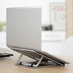 Support Ordinateur Portable Universel K04 pour Samsung Galaxy Book Flex 13.3 NP930QCG Argent