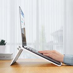 Support Ordinateur Portable Universel K11 pour Samsung Galaxy Book Flex 13.3 NP930QCG Argent