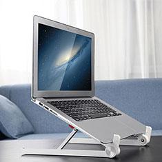 Support Ordinateur Portable Universel K13 pour Samsung Galaxy Book Flex 15.6 NP950QCG Argent