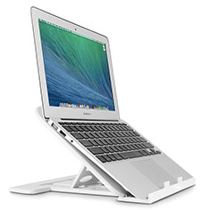 Support Ordinateur Portable Universel S02 pour Apple MacBook Air 11 pouces Argent