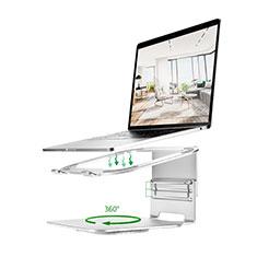 Support Ordinateur Portable Universel S07 pour Apple MacBook 12 pouces Argent