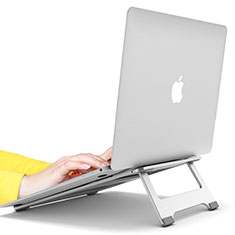 Support Ordinateur Portable Universel S10 pour Apple MacBook Pro 15 pouces Argent
