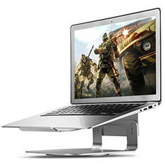Support Ordinateur Portable Universel S16 pour Apple MacBook Air 11 pouces Argent