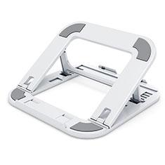Support Ordinateur Portable Universel T02 pour Samsung Galaxy Book Flex 13.3 NP930QCG Blanc