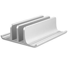 Support Ordinateur Portable Universel T06 pour Samsung Galaxy Book Flex 15.6 NP950QCG Argent