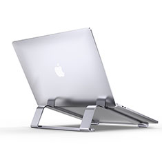 Support Ordinateur Portable Universel T10 pour Apple MacBook Air 13 pouces Argent