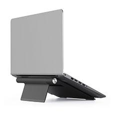 Support Ordinateur Portable Universel T11 pour Apple MacBook 12 pouces Noir