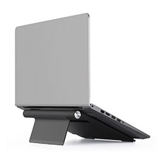 Support Ordinateur Portable Universel T11 pour Apple MacBook Air 13 pouces (2020) Noir