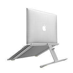 Support Ordinateur Portable Universel T12 pour Apple MacBook Air 13.3 pouces (2018) Argent