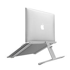 Support Ordinateur Portable Universel T12 pour Huawei MateBook D15 (2020) 15.6 Argent