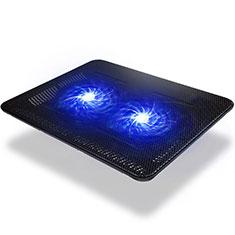 Support Ordinateur Portable Ventilateur de Refroidissement Radiateur Universel 9 Pouces a 14 Pouces S01 pour Apple MacBook 12 pouces Noir