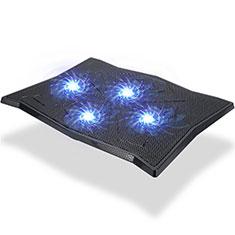 Support Ordinateur Portable Ventilateur de Refroidissement Radiateur Universel 9 Pouces a 16 Pouces M08 pour Apple MacBook Air 13 pouces (2020) Noir